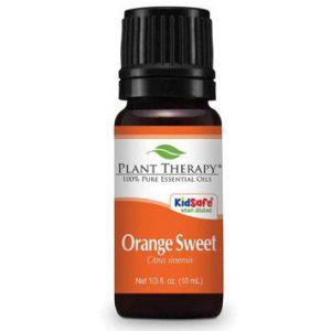 Sweet Orange Organic Essential Oil